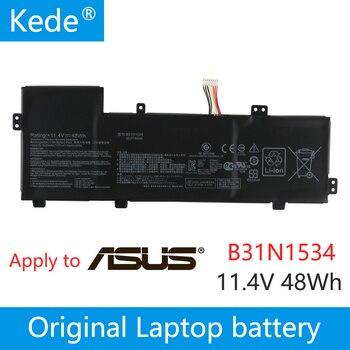 """kede  11.1V 48Wh  Original B31N1534 Laptop Battery For Asus Zenbook UX510 UX510UW UX510UX Series 15.6"""" Tablet"""