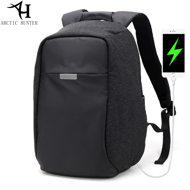 ARCTIC HUNTER USB charge backpack for men waterproof 15.6 inch laptop Back to school bag women casual travel mochila escolar lowepro protactic 450 aw backpack rain professional slr for two cameras bag shoulder camera bag dslr 15 inch laptop