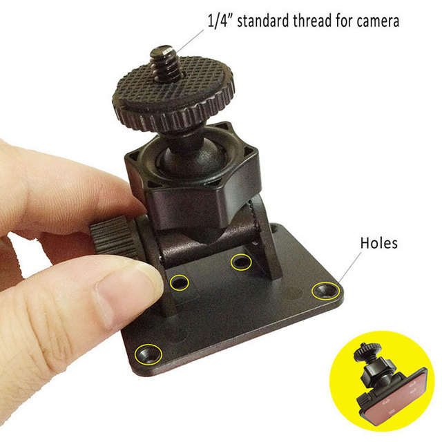 2017 New Diy Car Dvr Sport Dv Digital Camera 1 4 Standard Aluminum Tripod Mini 37 8 5kg Load Micro Desk Mount