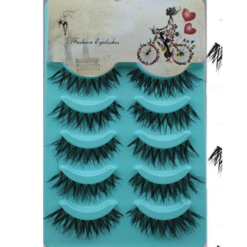 False-Eyelashes Make-Up Messy Natural Cross 5-Pairs Eyebeauty Hot-Sales New Good-Quality