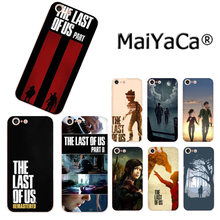 MaiYaCa The Last Of US Part 2 ใหม่มาถึงแฟชั่นโทรศัพท์สำหรับ iPhone 11 Pro 8 7 66S PLUS X 10 5S SE XS XR XS MAX COVER(China)