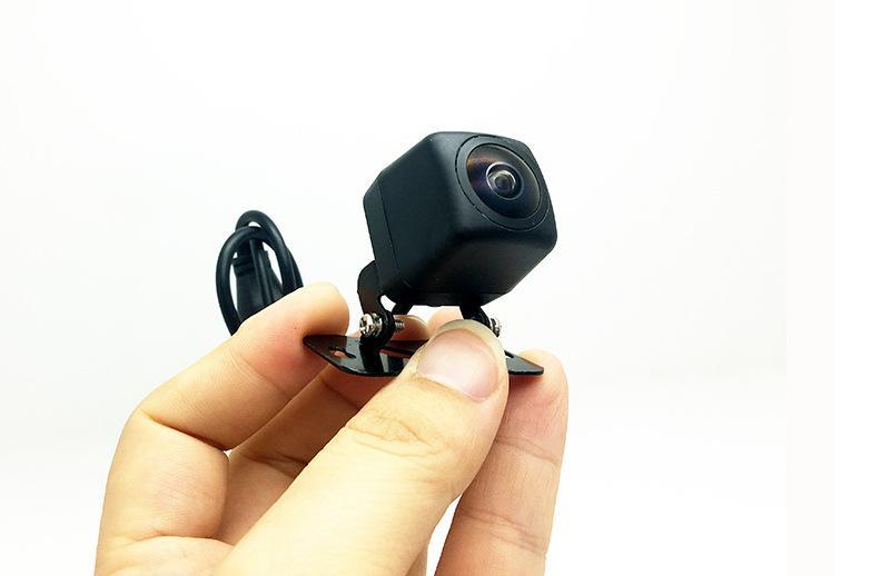 HD cámara de visión trasera de coche 170 grados de ángulo 8