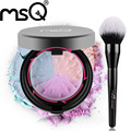 Msq nova chegada único pincel de maquiagem em pó e em pó solto 3 cores mineral em pó compo o jogo