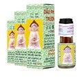 Vietnã Buda Óleo 1.5 ml Para Dor de Cabeça Tonturas Dor Nas Costas Dor de Estômago Dor de Dente Ativo Óleo Pomada Bálsamo de Tigre Gesso