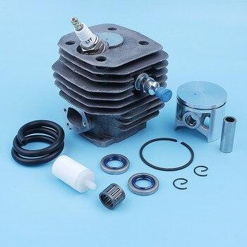 48mm Cylinder Piston Bearing Kit For Husqvarna 261 262 262XP Chainsaw Oil Seal Fuel Line Hose Decompression Valve 503 54 11 72 шина husqvarna 5859433 72