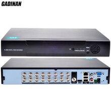 Gadinan 16CH ahdm 720 P DVR Регистраторы AHD-M DVR 16 каналов 2 sata hdd Порты и разъёмы 3 г AHD DVR Hybrid NVR 8 * ahdm (аналоговый) + 8*720 P (IP) ONVIF