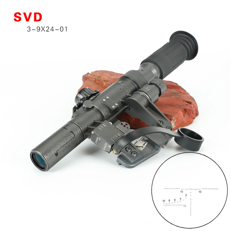 Tactical SVD 3-9X24W Hunting Rifle Scopes 3-9x24w Optics Sight For Hunting