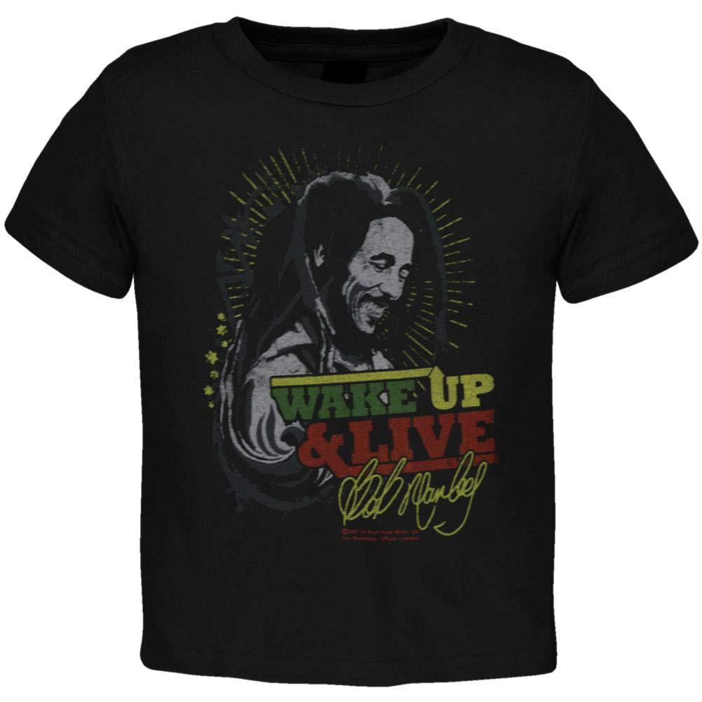 Mens Size Medium Black Bob Marley T-shirt