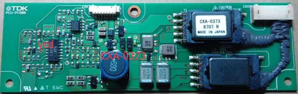 CXA-0373 PCU-P158B Inverter cxa 0373 pcu p158b original tdk lcd inverter high voltage switchboard board
