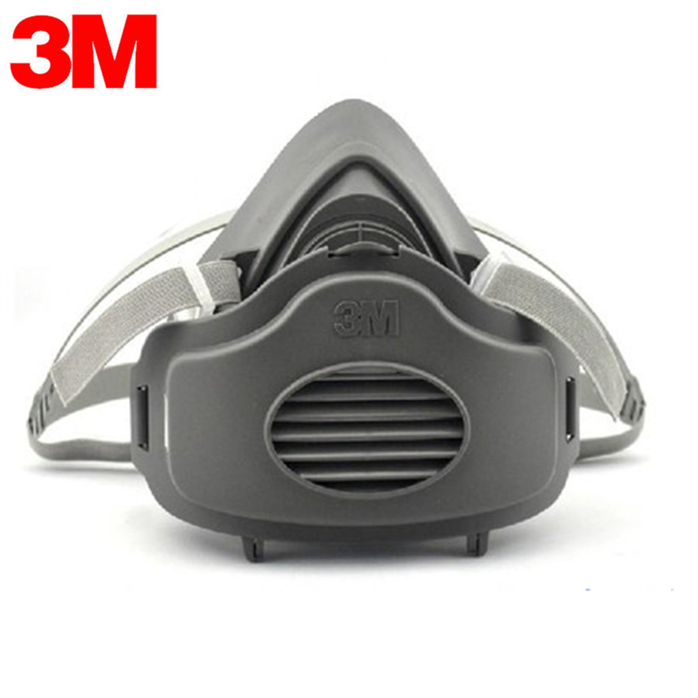 3M 3200 Filters Half Face Dust Gas Mask KN95 Respirator Safety Protective Mask Anti Dust Anti Organic Vapors PM2.5 Fog