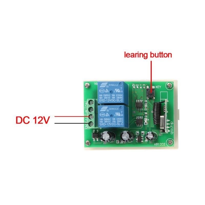 Interruptores e Relés módulo receptor com o transmissor Marca : Lemaic