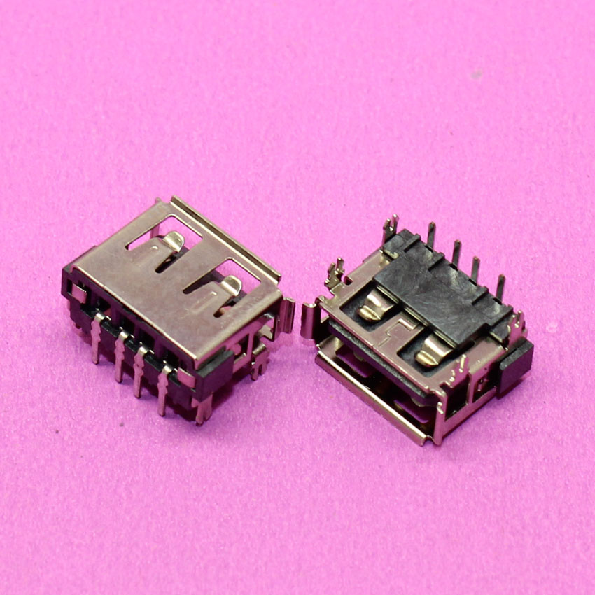 2pcs Laptop 2.0 USB Jack Connector Port USB Socket For Toshiba M805D C660 C660D Emachines Acer HP Lenovo Thinkpad L450 L450D