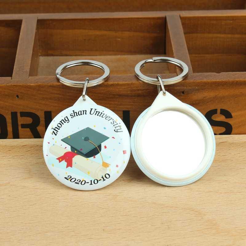 Подарочный Брелок на выпускной с логотипом на заказ с зеркальным классом, лучшие подарки для одноклассников и учителей, вечерние подарочные сувениры