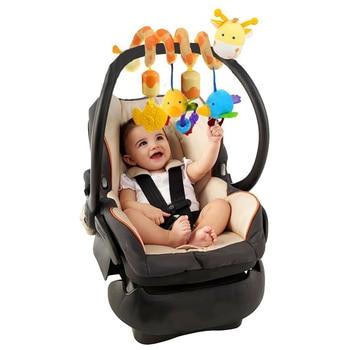 Babelemi, lindo ciervo, bebé, juego de actividad, cama espiral, cochecito, juguete colgante, campana, cuna, sonajero, juguetes para bebés de 0 a 12 meses