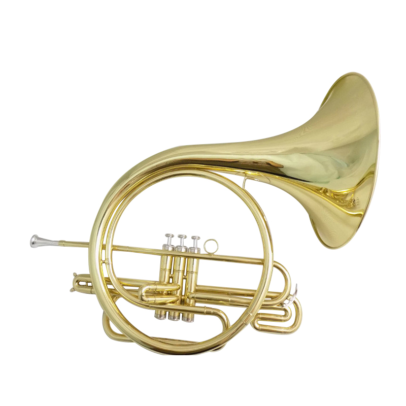 Piston French Horn Bb  With Case And Mouthpiece Cupronickel Leadpipe B Flat Brass French Horn Musical Instruments