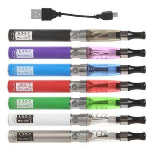أوغو-T البطارية USB تهمة مجموعة نفطة السجائر الإلكترونية السائل استبدال الأنا Ce4 Atomiaer E Cigs الشيشة Ce4 Vaper عموم smokehot