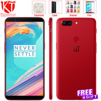 NEW Original Oneplus 5T Mobile Phone Snapdragon 835 Octa Core 6 01 Full Screen 6GB 64GB