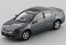 Grey 1:18 Honda SPIRIOR (Accord Euro) Alloy Metal Car Miniature Model Vehicle Parts