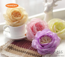 20 colors Artificail Silk European Rose Flower Head DIY Wedding Wall Arch Bouquet Handmade Accessories Decoration YXF16