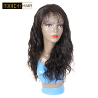 150% Density Lace Front Human Hair Wigs With Baby Hair Pre Plucked Brazilian Hair Wigs Morichy Remy Hair