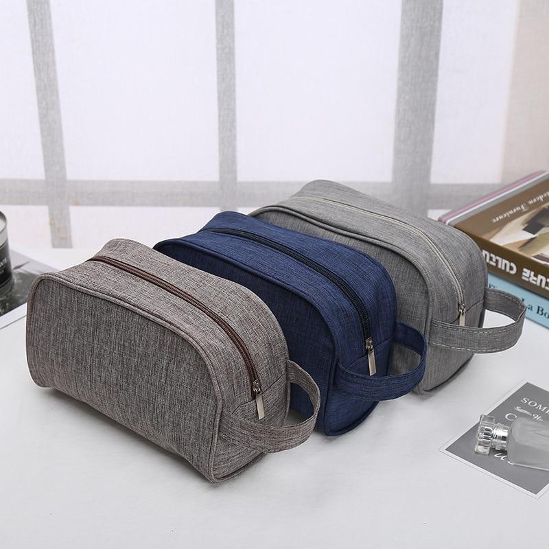 PURDORED 1 Pc Men Washing Bag Waterproof Makeup Bag Travel Beauty Cosmetic Bag Organizer Toiletry Bag Necessaries Dropshipping