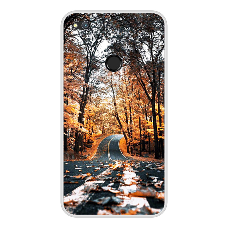 "Image 5 - Case for Huawei Honor 8 lite 5.2"" Printing Cute Painted Soft Silicone Back Case Cover FOR Coque Huawei Honor 8 Lite capa Bumper-in Fitted Cases from Cellphones & Telecommunications"