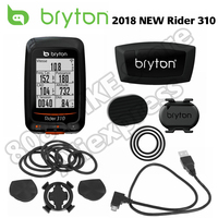 2018 NEW Bryton Rider 310 Enabled Waterproof GPS Bike bicycle computer speedometer 200 500 510 800 810 mount
