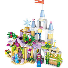37020 Princess Castle Cinderella Arendelle Model Building Blocks Toys for Children Compatible With Legoings Friends Figures vijay kumar singh u k sharma and shobhit singh synthesis and antimicrobial activity of benzotriazole derivatives