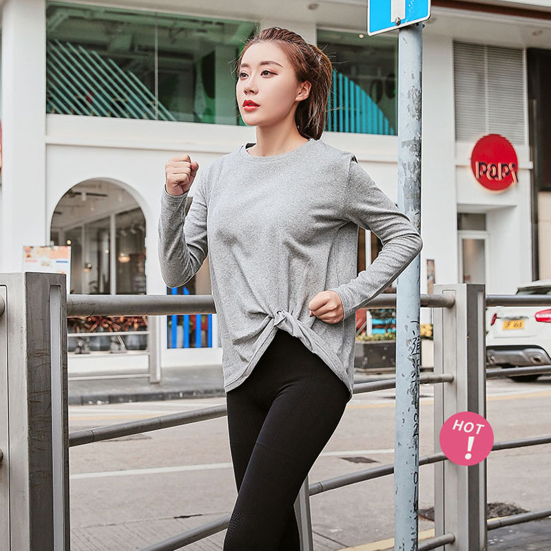 Plus Size Yoga Shirts Gym Clothing For Women Fitness Tops Sport Shirt Women Long Sleeve Chemise Femme Manche Longue Quick Dry Buy At The Price Of 18 24 In Aliexpress Com Imall Com