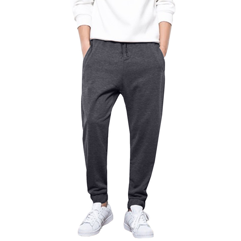 Mens Sweatpants 2018 Fashion Brand Joggers Harem Pants For Men Slim Long Sweats Trousers Male Cotton Tracksuit Bottoms Slacks