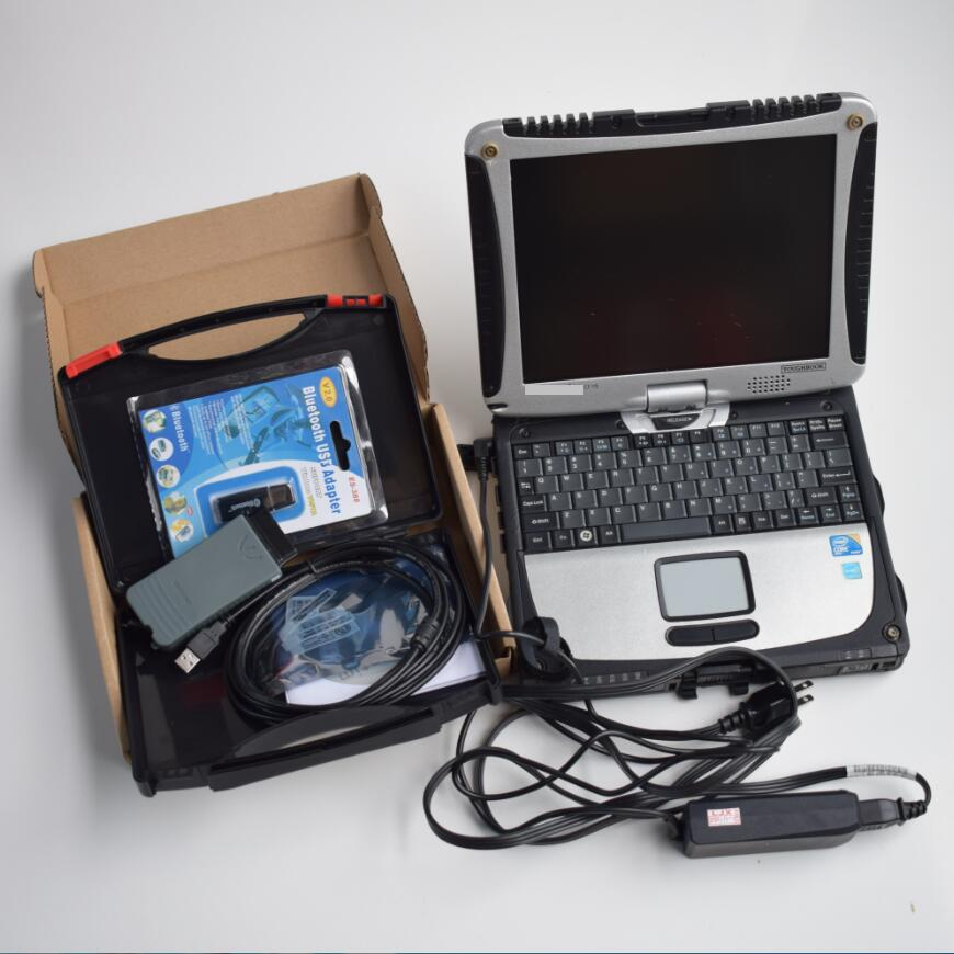 Полный чип VAS 5054A VAS5054A с OKI ODIS V4.4.1 с UDS протокола программное обеспечение инженер v8.1.3 в CF19 4g ноутбук барана i5 готовы использовать
