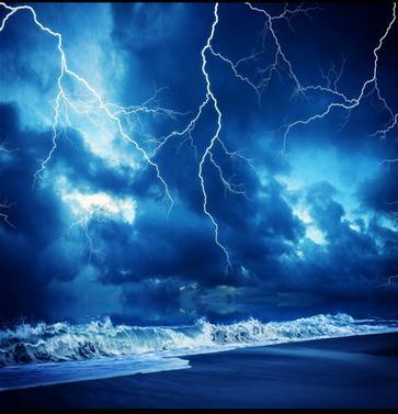 ... Wall Paper Thunder And Lightning Night Sky Zenith Mural Wallpaper Mural  Wall Stickers Wallpaper Papel De Part 46