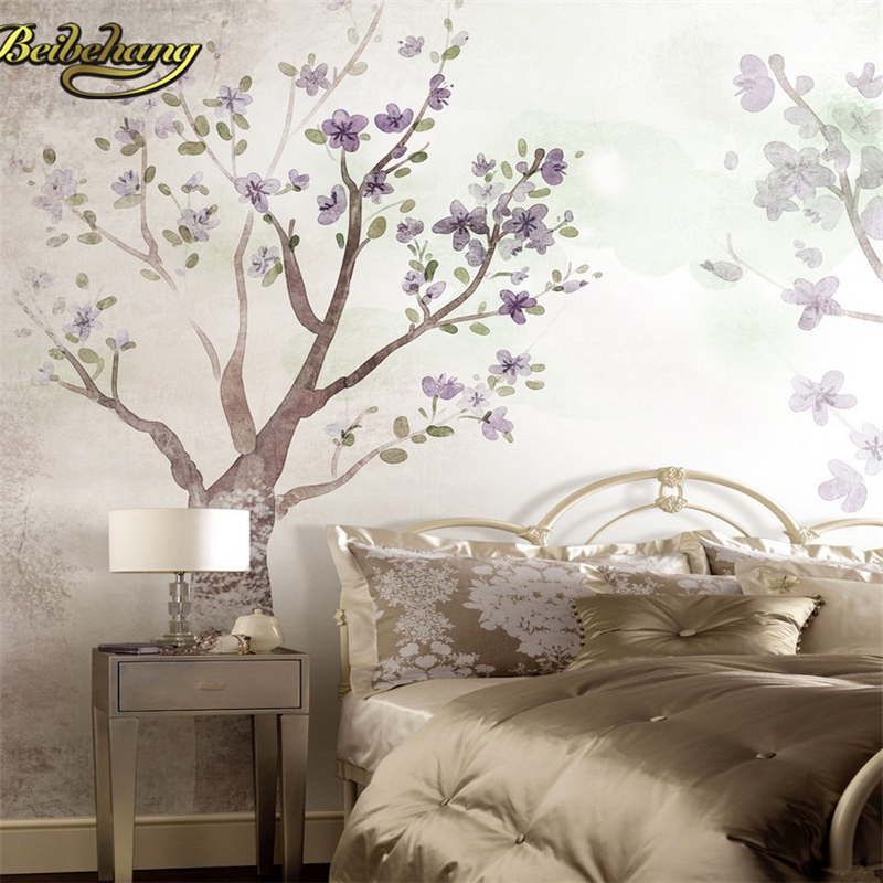 beibehang papel de parede 3D American abstract tree photo mural wallpaper for walls TV background living room wall contact paper beibehang beach papel de parede mural wallpaper for living room bedroom sofa background wall paper photo wallpaper for walls 3 d