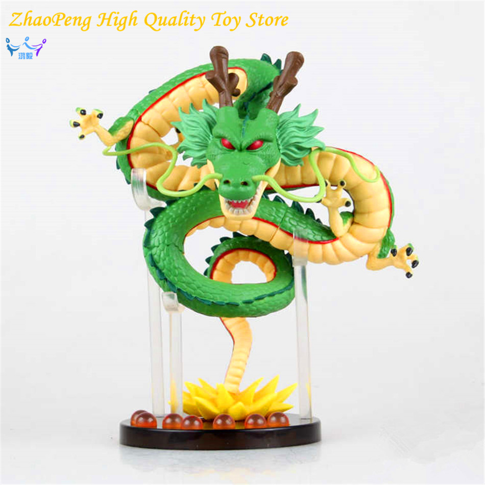 Free Shipping Anime 20cm Cartoon Dragon Ball Z ShenRon ShenLong PVC Action Figure Collectible Model Toy Retail Box FB298 j g chen anime cartoon dragon ball z shenron shenlong gold pvc action figure collectible model toy free shipping