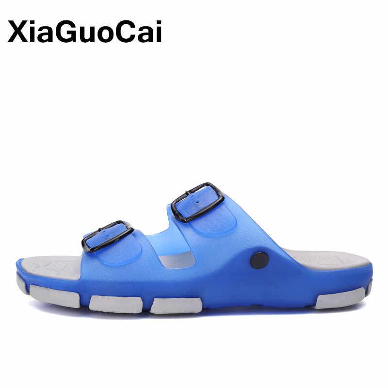 קיץ נשים נעלי כפכפים מערכות רחצה בית 2019 פרדות חיצוני גדול גודל נשי חוף סנדלי כפכפים יוניסקס