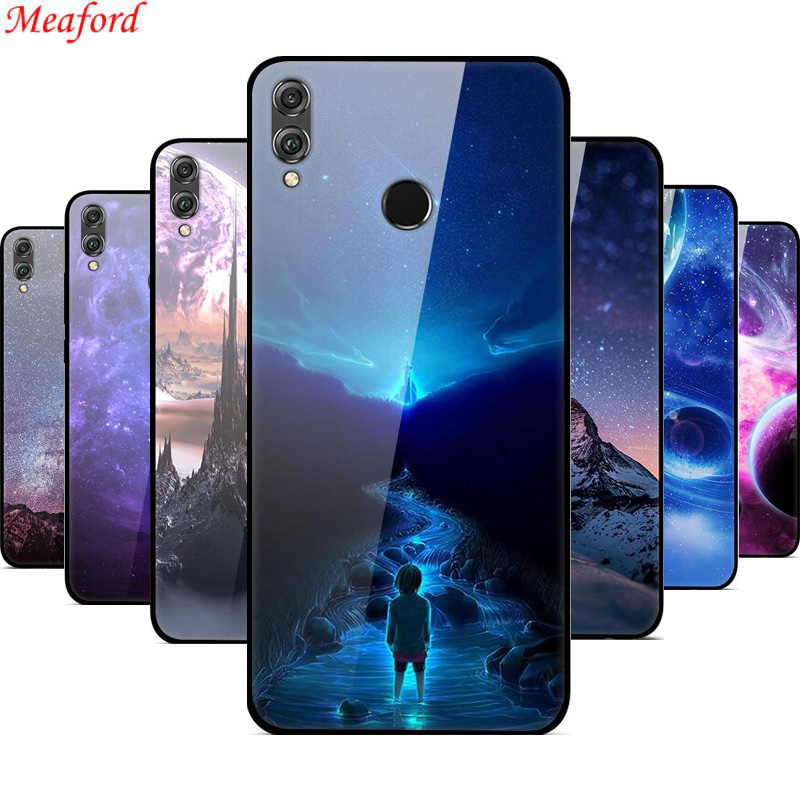 For Coque Huawei <font><b>Honor</b></font> <font><b>8X</b></font> 20 <font><b>Case</b></font> Honor8x <font><b>Max</b></font> Glass Back Cover <font><b>Case</b></font> For Huawei <font><b>Honor</b></font> <font><b>8X</b></font> <font><b>Case</b></font> 8 X TPU Bumper <font><b>Honor</b></font> <font><b>8X</b></font> <font><b>Max</b></font> Nova 5t image