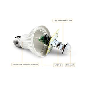 Image 3 - LED לילה אור PIR חיישן נורות גוף תנועת 220V 230V Motion חיישן LED מנורת מדרגות מסדרון תאורה 5W 7W 9W 12W 18W