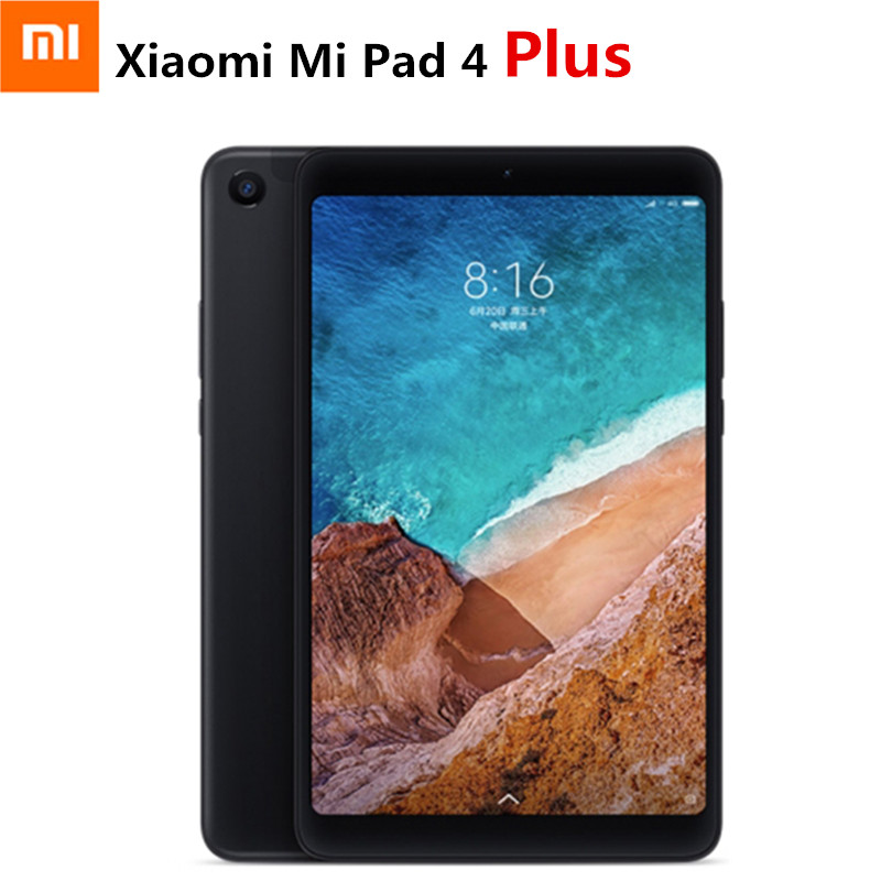 Xiao mi mi pad 4 Plus 4G phablet 10.1 ''mi ui 9.0 qualcomm SNAPDRAGON 660 4 Gb + 64 GB di Riconoscimento Facciale 13MP Cam Dual WiFi Tablet PC