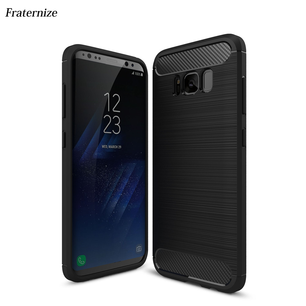 Shockproof Armour Carbon Fiber TPU Case for Samsung Galaxy S8 Plus S6 S7 Edge A3 A5 A7 2017 J5 J7 2016 Grand J1 mini J2 J3 Prime