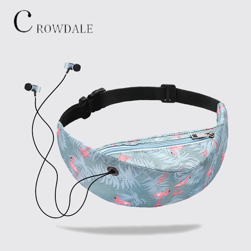 Brand Designer 2019 New Colorful Pockets Waterproof Fashion Travel Pockets Mobile Phone Pockets Ladies Designer Belt Bag