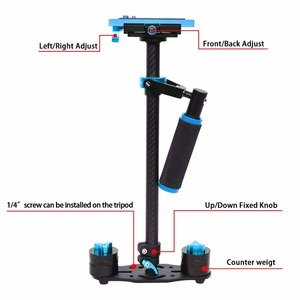 Image 4 - YELANGU S60T Professional Portable Carbon Fiber Mini Handheld Camera Stabilizer DSLR Camcorder Video Steadicam