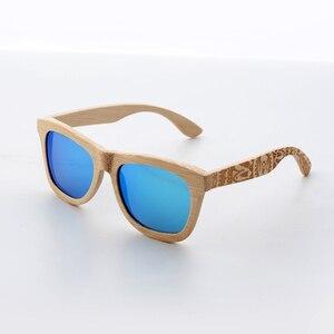Image 4 - CUUPA, Ретро стиль, деревянные женские солнцезащитные очки, мужские, высокого качества, фирменный дизайн, резная бамбуковая оправа, поляризационные солнцезащитные очки, пляжные очки