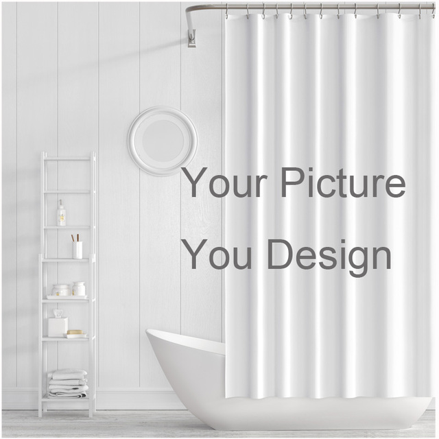 Shower Curtain Ramadan Decoration The Curtains Measure King Waterproof Bathroom Fabric Moederdag Cadeau