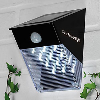 Led Solar Sensor Light Garden Lamp Outdoor sconces Solar Led Wall Light Luminaira Luz Free Shipping Commodities Are Available Without Restriction Outdoor Lighting