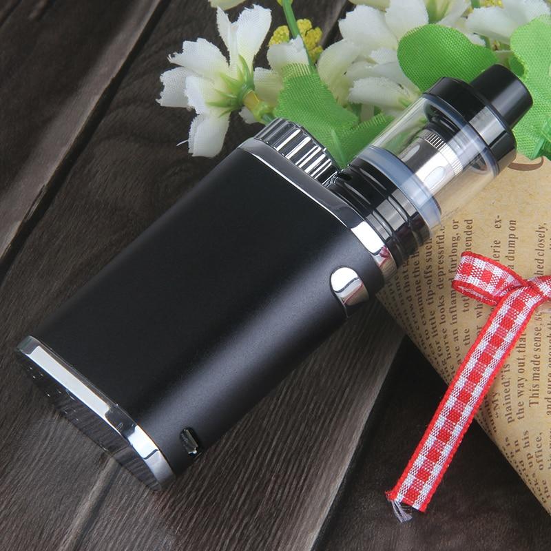 Kingfish P-BOX e cigarette Top filling Atomizer Subox Mini Vape Kit vaporizer Box Mod 50w Weipa Istick Pico Electronic Cigarette