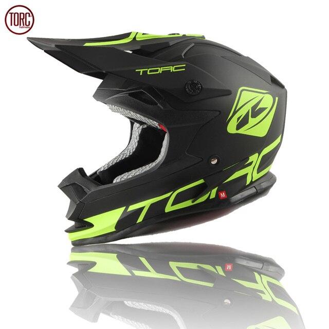 Hign quality Brand TORC motorcycle helmet Professional motocross helmet Men's off-road helmet moto cascos Dirt Bike capacete