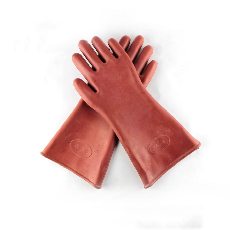 12KV Insulated Gloves Against Electricity 220v380V Labor Protection Rubber Gloves For High-voltage Electricians