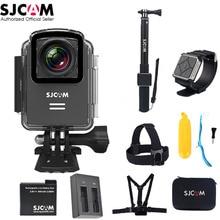 100% Оригинальные SJCAM M20 Wi-Fi 4 К 24fps NTK96660 16MP стабилизации гироскопа 30 м Водонепроницаемый Спорт действий Камера автомобиль mini DVR