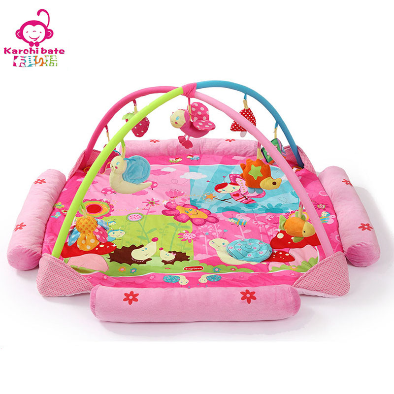 Newborn Baby Girls Play Mat Music Infant Game Pad Toddler Thick Carpet Crawling Rugs Playpen Baby Bed Development Education Toy actionclub 0 2year baby toy baby play mat game boys girls educational crawling mat play gym kids blanket carpet