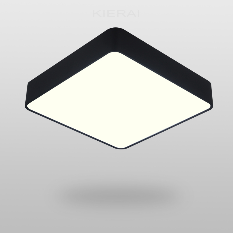 Free Shipping Modern Nordic Black Square Pendant Light
